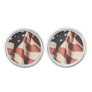 United States flag filter Cufflinks