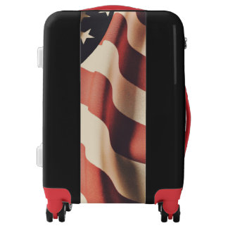United States flag filter Luggage