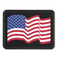 United States Flag Hitch Cover