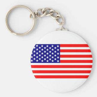 United States flag Keychain