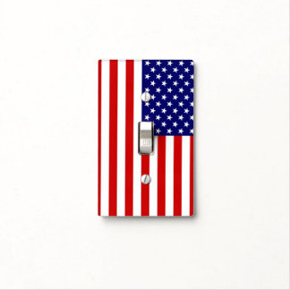 United States Flag Light Switch Cover