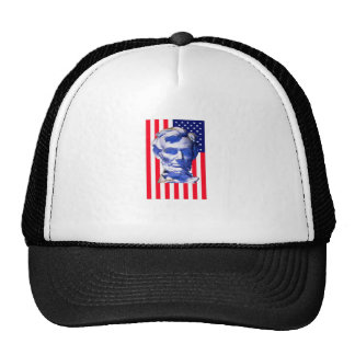 United States Flag Lincoln The MUSEUM Zazzle Trucker Hat