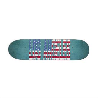 United States Flag Los Angeles Skateboard USA
