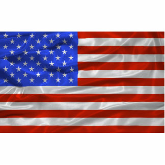United States Flag Magnet Cut Out