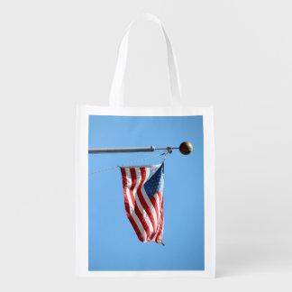 United States Flag Market Tote