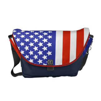 United States Flag Messenger Bag
