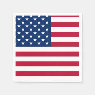 United States Flag Napkin