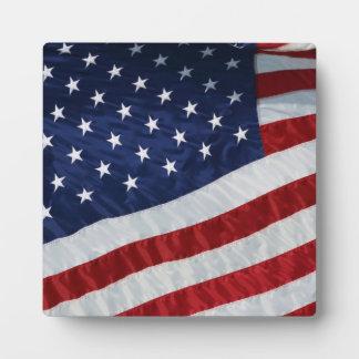 United States Flag Plaque