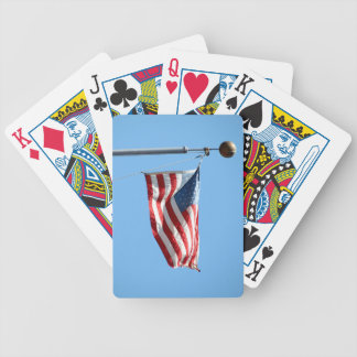 United States Flag Bicycle Poker Cards