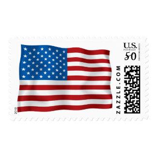 United States Flag Postage