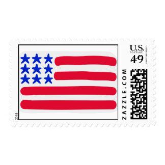 United States flag Postage Stamp