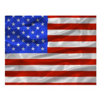United States Flag Postcard