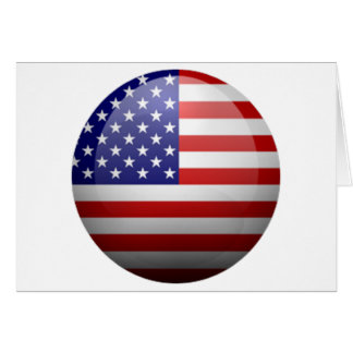 United States Flag Products Greeting Card