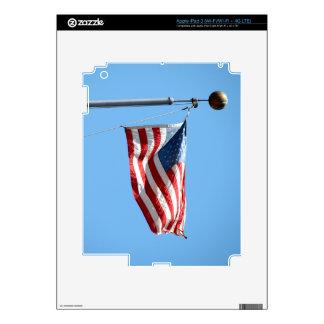United States Flag Skin For iPad 3