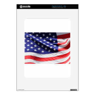 UNITED STATES FLAG iPad DECAL