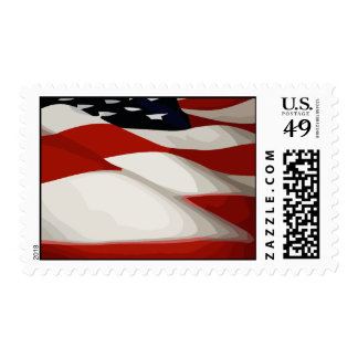 United States Flag Stamp