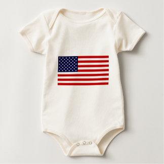 United States Flag - Stars and Stripes! Bodysuit