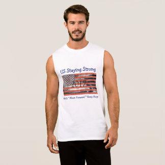 United States Flag Staying  Strong Hurricane Shirt