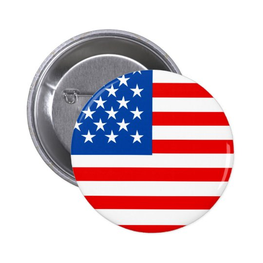 United States Flag T-shirts and Gifts Button