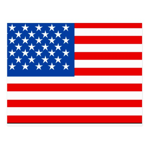 United States Flag T-shirts and Gifts Postcard