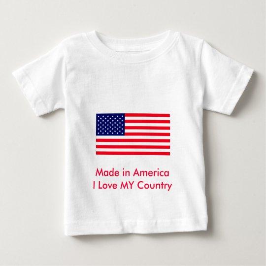 United States Flag The MUSEUM Zazzle Baby T-Shirt