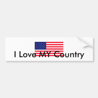 United States Flag The MUSEUM Zazzle Bumper Sticker
