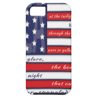 United States Flag, The Star Spangled Banner iPhone SE/5/5s Case