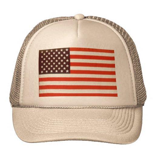 United States Flag Trucker Hat