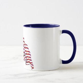 United States Flag Vintage Mug