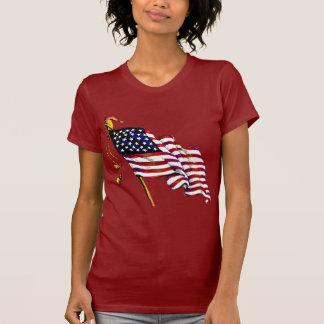 United States Flag Vintage T Shirt