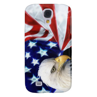 United States Flag with Bald Eagle iPhone 3G case Samsung Galaxy S4 Case