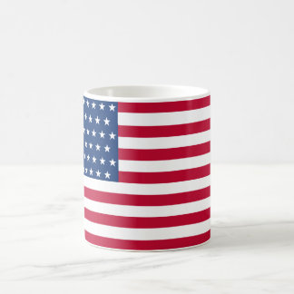 United States Flag with the 51 Stars Classic White Coffee Mug