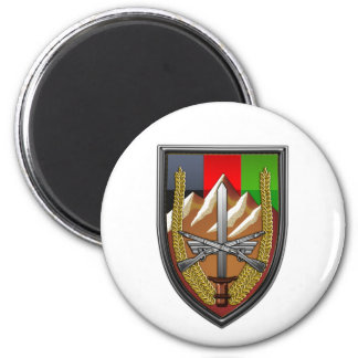 United States Forces Afghanistan 2 Inch Round Magnet
