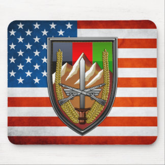 United States Forces Afghanistan Mouse Pad