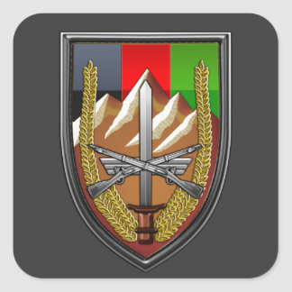 United States Forces Afghanistan Square Sticker