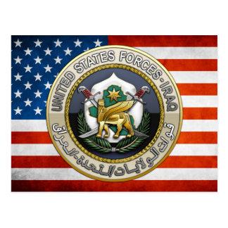 United States Forces - Iraq Postcard