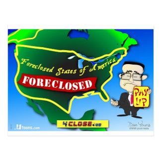 United States Foreclosure Postcard