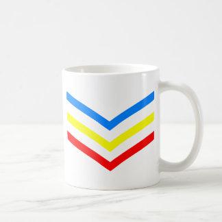 United States Gay Sergeant Stripes Coffee Mug