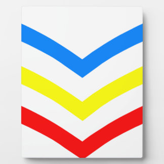 United States Gay Sergeant Stripes Plaque