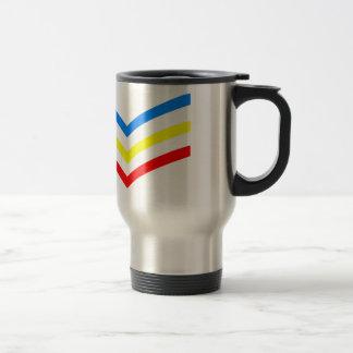 United States Gay Sergeant Stripes Travel Mug