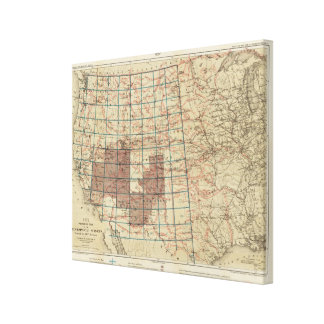 United States Geographical Surveys Canvas Print