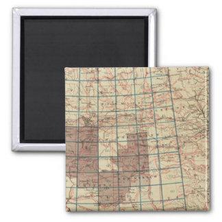 United States Geographical Surveys Refrigerator Magnet