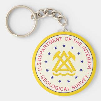 United States Geological Survey Keychains