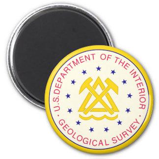 United States Geological Survey Magnet