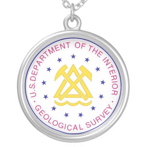 United States Geological Survey Necklace