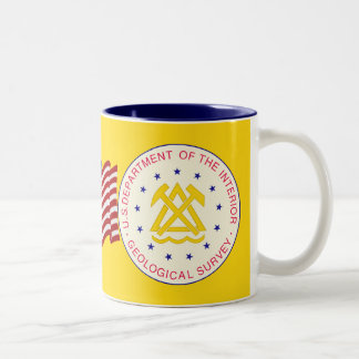 United States Geological Survey Two-Tone Coffee Mug