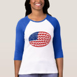 United States Gnarly Flag T-Shirt