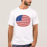 United States Gnarly Flag T-Shirt