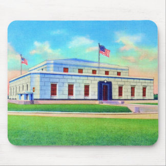 United States Gold Depository, 1938 Post Card Mouse Pad