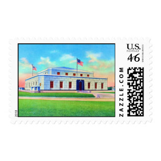 United States Gold Depository 1938 Post Card Postage Stamp